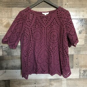 Anthropologie Porridge Blouse